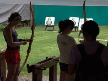 Trapeze, archery . . . all part of Phuket's Club Med activities package