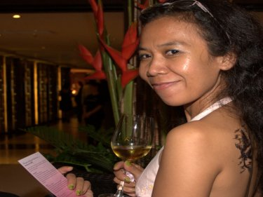 One of the guests as Courtyard by Marriott celebrated in Patong last night