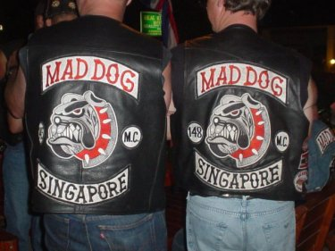 Singapore, now there's a wild Mad Dog town