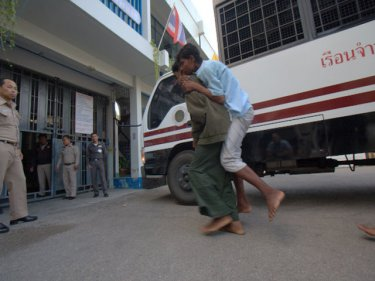 Rohingya were left to help each other entering  Ranong Jail in January