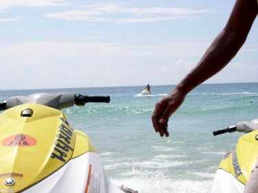 A plan to phase out all jet-skis from Phuket's beaches produced more vehicles