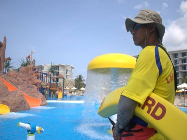 Phuket's Splash Jungle: more lifeguards than guests, but not for long