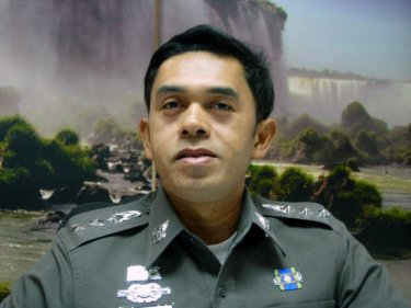 Colonel Wanchai Eakpornpit of Phuket City: he heads the murder hunt