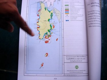 Phuket's marine environment future is mapped out in a large 'Inception Report'