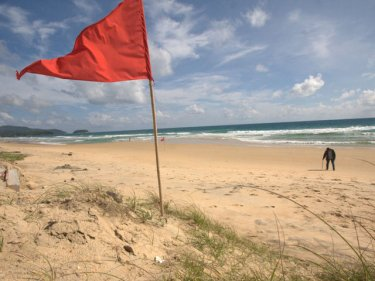 Phuket's Karon beach, beautiful but brooding  . . . and risky at the wrong time
