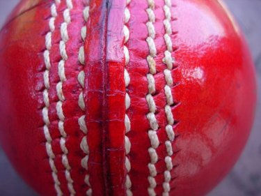 Six stitches on a cricket ball: could be why they call it the Sixes