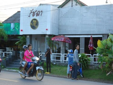The Rassada Pub in Poonpol Road, Phuket City, where the stabbing occurred