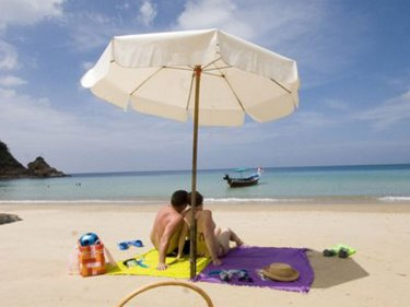 Once upon a time,  Phuket beaches looked like this . . .