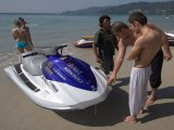 Phuket Jet-Ski Crash Tourists Settle Dispute on Karon Beach