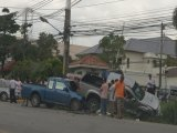 Phuket Pickups in Piggyback Pileup: Photo Special