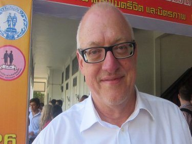 Professor Dr Wolfgang Boehm speaks confidently of a ''green'' Phuket