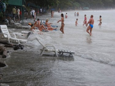 Storm Batters Phuket Beaches: Photo Special - Phuket Wan