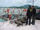 Phuket Arsonist Lights Night With Blazing Saddles of Three Motorcycles