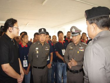 Senior police from Bangkok are part of the Phuket safety plan
