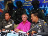 Wanted Phuket Expat Presented Today to Media in Bangkok
