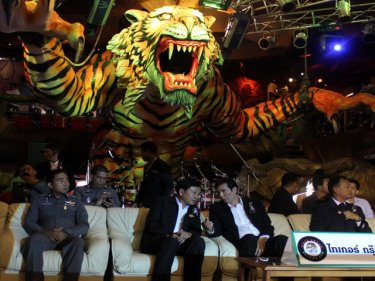 Tiger roars back with a venue opening one week after four burn to death