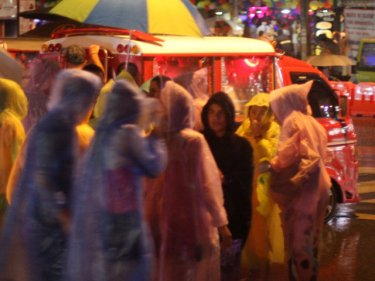 More sales can be expected for raincoats and umbrellas in Patong