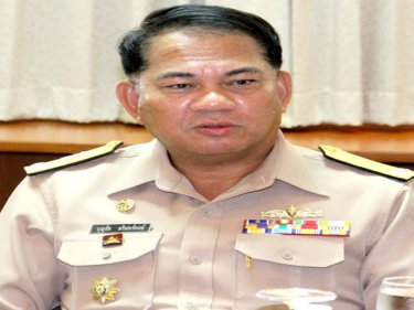 Vice Admiral Boonchai Marinpong: 'help on' with human rights