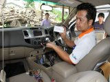 Phuket Tuk-Tuks, Taxis, Pioneer GPS Patong Safety Zone Action