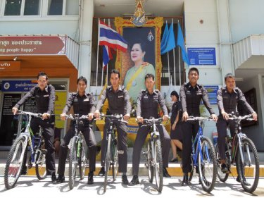 Patong's pedal patrol set to ride: they've attracted national attention
