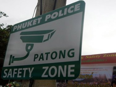 Patong's Safety Zone has national importance, according to police