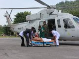 Phuket Airlift Chopper Rescues Tourist from Racha
