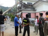 Phuket Pole Falls on House: So Who Pays?