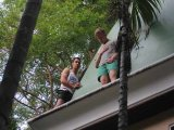 High Drama as Phuket Aussie Poises on Five Star Resort's Ledge: Photo Special