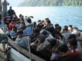 Fleeing Rohingya Captive on Thai Border
