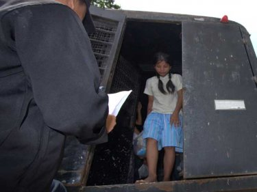 A young Burmese heads for jail after surviving the 2008 mass suffocation