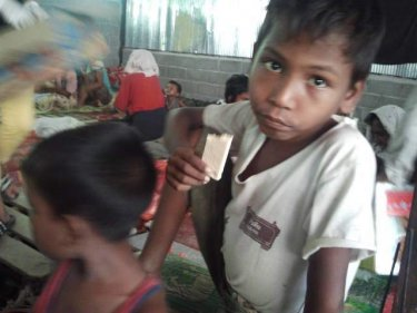 Young Rohingya among those in the first camp raided yesterday