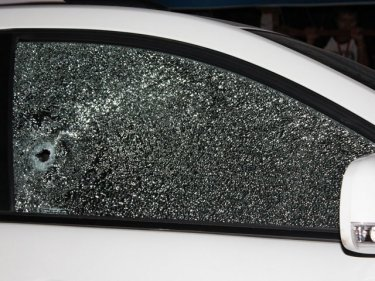 A single bullet through the driver's window killed Jintana Mahattanapak