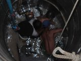 Trapped Phuket Man Freed From Well: Photo Special
