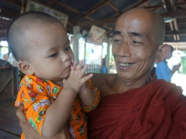 Monks care for 159 children at the Maliwan Temple north of Phuket