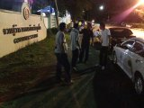 Phuket's Rejected Airport Taxi Drivers Stage Late Night Protest at Governor's Mansion