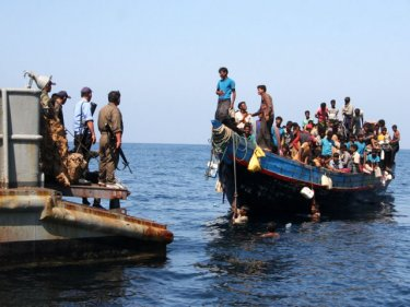 The Thai Navy has denied people smuggling: who is doing it then?