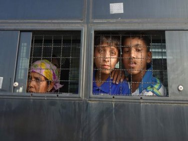 Captive Rohingya women and children are escaping Thailand
