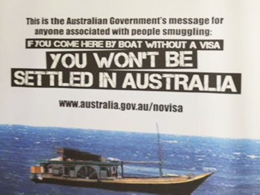 Down Under sinks lower: What the desperate and deserving are now being told by a nation that grew prosperous thanks to people in boats