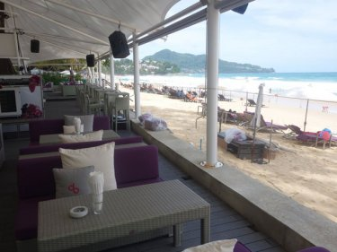 Surin's beachfront is now lined with restaurants and beach clubs