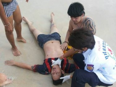 Man Rescued from Patong Surf Admits to Drinking Alcohol