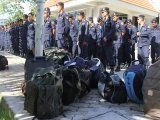 Phuket Police Sent to Giant Rubber Protest Over Falling Prices
