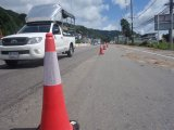 Patong Hill Sliding Lane Overtaken by Phuket City Underpasses