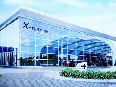 A new X terminal expands capacity at Phuket International Airport