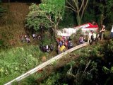 Bus Crash Kills 22 Day Trip Passengers from Chiang Mai