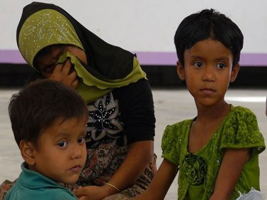 Rohingya among the group that fled a family shelter north of Phuket