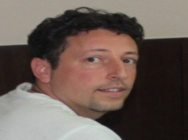 Stolen identity victim Luigi Maraldi on Phuket with police today