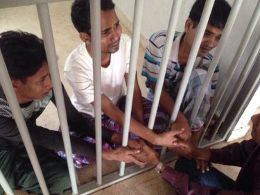 Rohingya behind bars in southern Thailand: many die in captivity