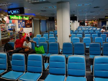Sometimes the departure lounge at Phuket airport can even seem appealing
