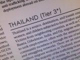 Thailand and Human Trafficking: The Reasons for the Downgrade