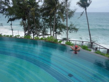 The swimming pool at the Pullman, Phuketwan's Resort of the Year 2013